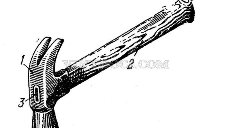 Молоток плотнчный типа МПЛ