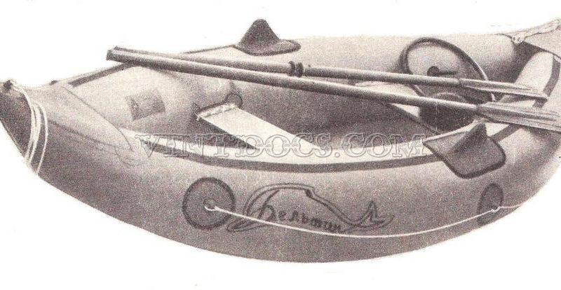 Надувная лодка Дельфин
