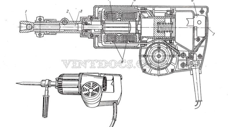 Электрический молоток ИЭ-4207