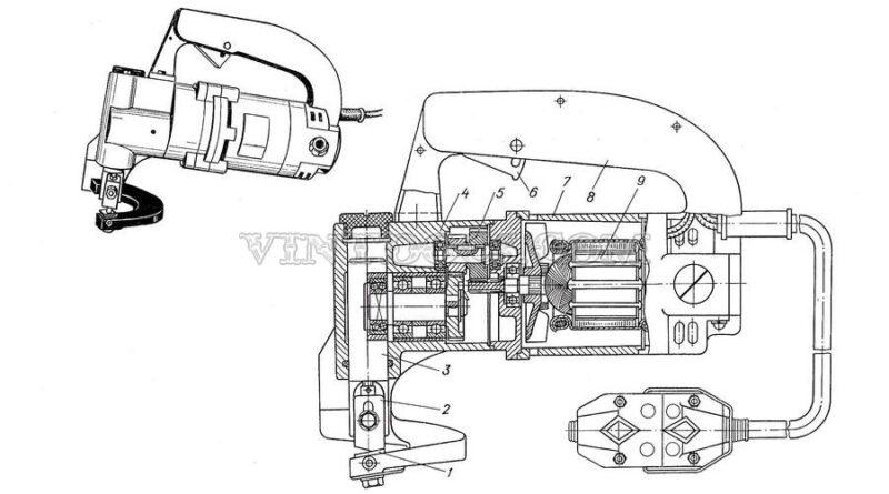 Электрические ножницы ИЭ-5501 И ИЭ-5403