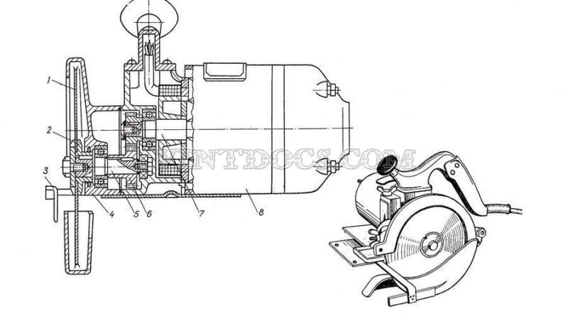 Электрическая дисковая пила ИЭ-5102Б