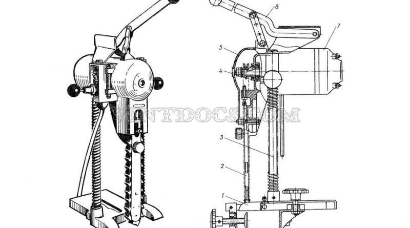 Электрический долбежник ИЭ-5601А
