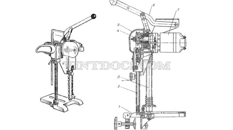 Электрический долбежник ИЭ-5605