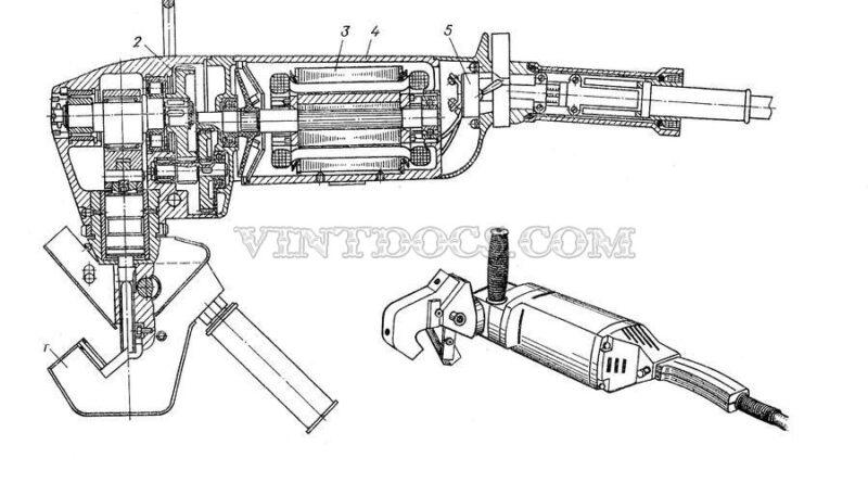 Электрический кромкорез ИЭ-6501