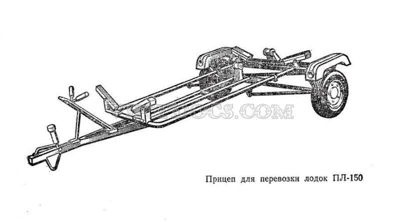 Прицеп ПЛ-150